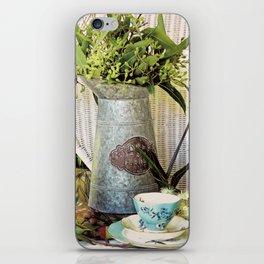 Tea On The Verandah iPhone Skin