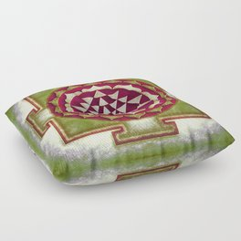 Sri Yantra IV.III Floor Pillow