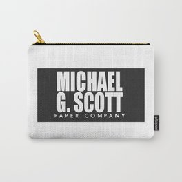 The Office Michael Paper Company Carry-All Pouch