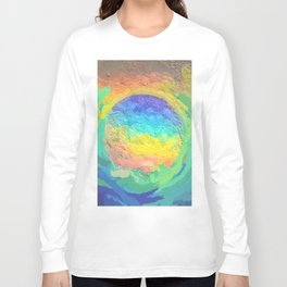 Abstract Mandala 237 Long Sleeve T-shirt