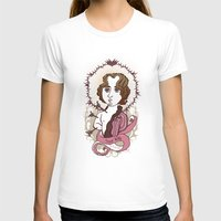 oscar wilde T-shirts featuring Oscar Wilde Holy Writer by roberto lanznaster