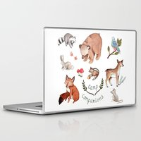 camp Laptop & iPad Skins featuring Camp Companions by Brooke Weeber