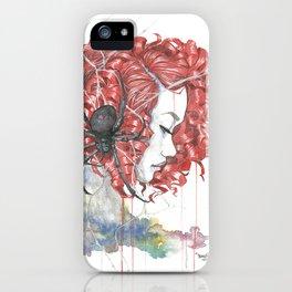 Blue Widow iPhone Case
