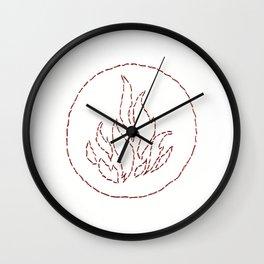 Dauntless Stitch Wall Clock