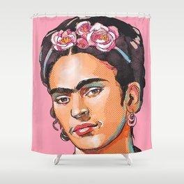 Frida Kahlo - Feminist Icon Shower Curtain
