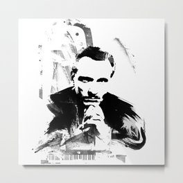 Piano Genius Metal Print