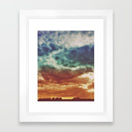 Cloudset Framed Art Print