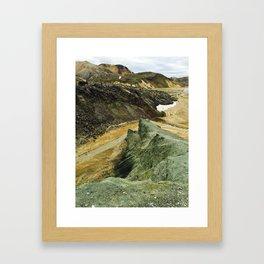 Icelandic Landscape Framed Art Print