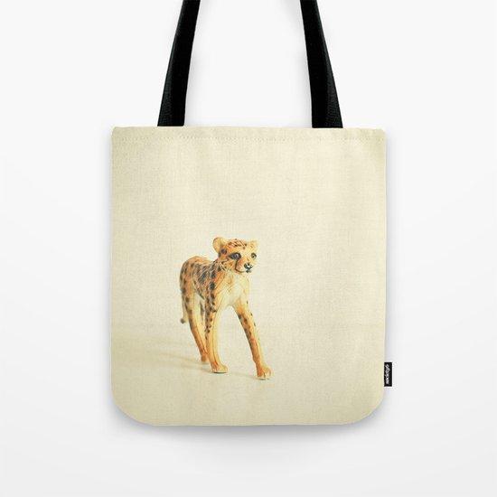 Catwalk Cheetah Tote Bag