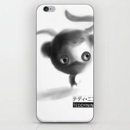 Teddy Ninja iPhone Skin