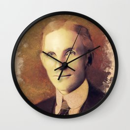 Henry Ford, Inventor Wall Clock