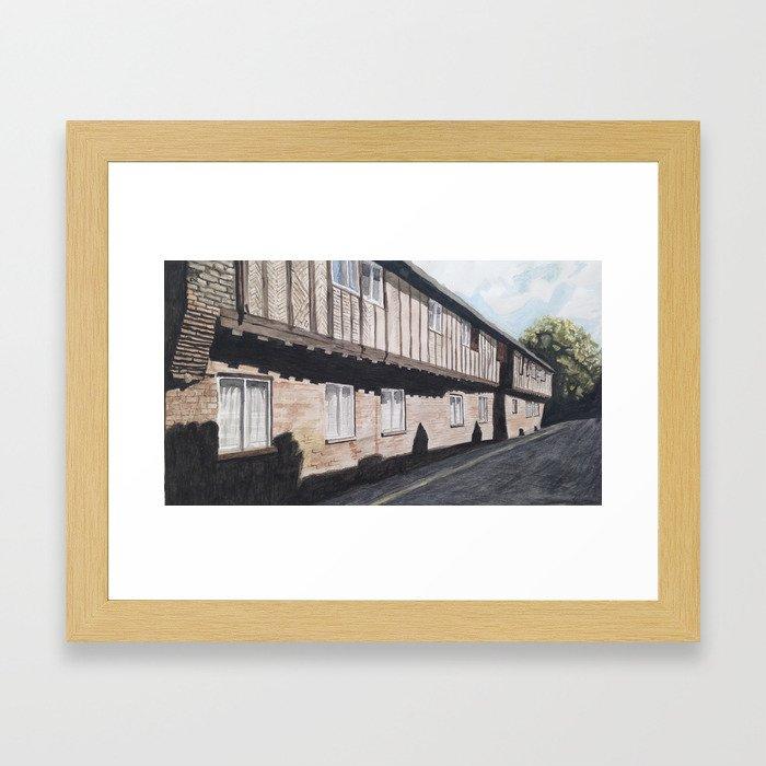 Hanseatic Warehouse Framed Art Print