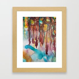 You Don't Bleed The Way I Bleed Framed Art Print
