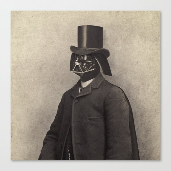 Lord Vadersworth  - square format Canvas Print