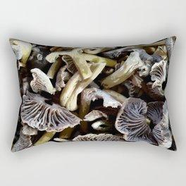Chopped mushrooms - Forest harvest Rectangular Pillow
