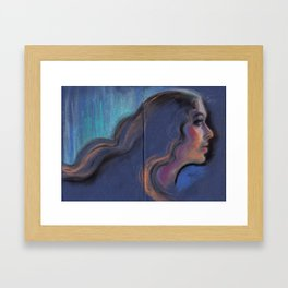 The light within Framed Art Print