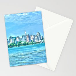 Madison Skyline Stationery Cards