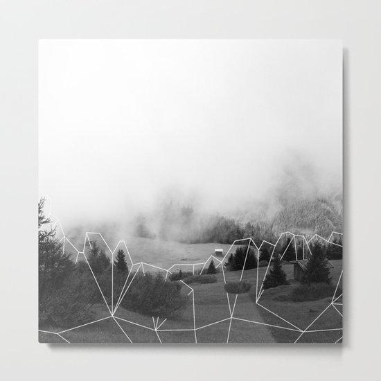 Crystal Hut I Metal Print