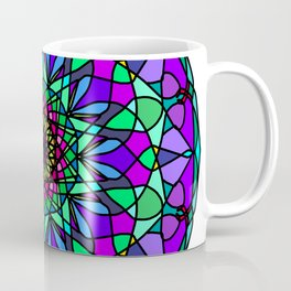 colorful decorative in trendy colors Coffee Mug