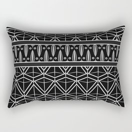 """Art Deco . No. 17 """"mirabelle 2 """" Rectangular Pillow"""