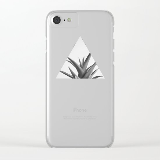 Leaves II Clear iPhone Case