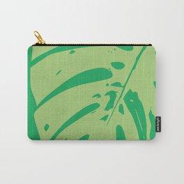 Leaf modern minimal print Carry-All Pouch