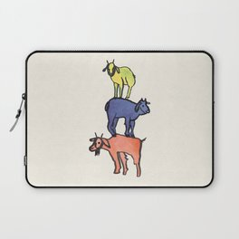 3 Billy Goats Up Laptop Sleeve