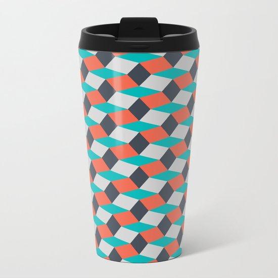 Four Colors Metal Travel Mug