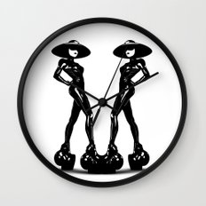 Fame Wall Clock