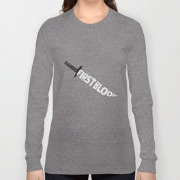 Rambo First Blood Long Sleeve T-shirt