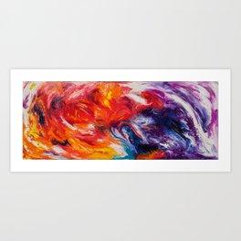 Rainbow Motion Art Print