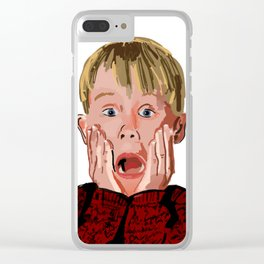Mr. Kevin Mccallister Clear iPhone Case
