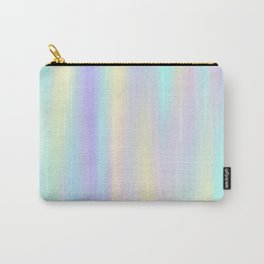 Pastel rainbow abstract Carry-All Pouch