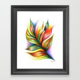 Armonía Framed Art Print