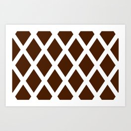 Cross Hatch Art Print
