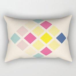 Retro Rubicube 05 Rectangular Pillow