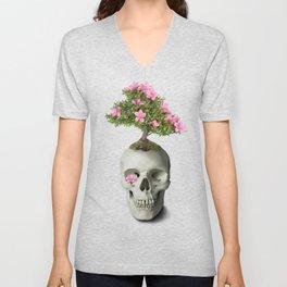 Bonsai Skull Unisex V-Neck
