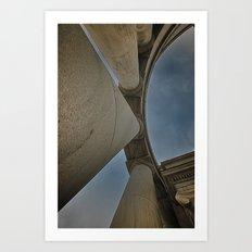 Looking up Art Print