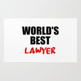 worlds best lawyer Rug