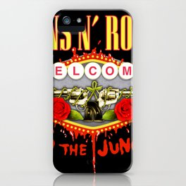 guns n roses album 2020 ansel7 iPhone Case