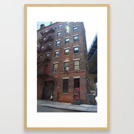 Brooklyn, New York, 126 Front Street Framed Art Print