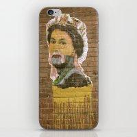 jenny liz rome iPhone & iPod Skins featuring Liz by Teresa Gabry