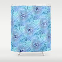 biology Shower Curtains featuring Marine Biology by Antique Images