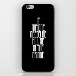 In The Fridge iPhone Skin