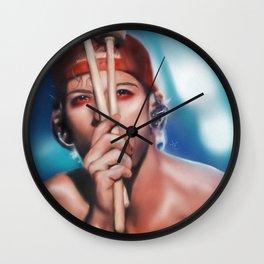 Drummer Boy Wall Clock