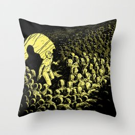 MORNING STAR - Moltitude Throw Pillow