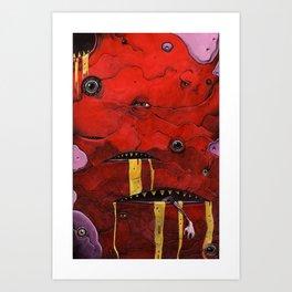 Verminus. Art Print