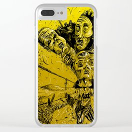 Violent muses Clear iPhone Case