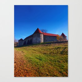 Pathway to Piberstein castle | architectural photography Canvas Print