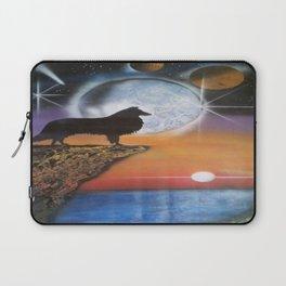 A Collie New Dawn Laptop Sleeve